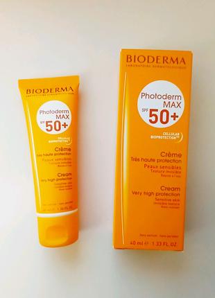 Bioderma Photoderm Max SPF 50+ солнцезащитный крем Биодерма фотод