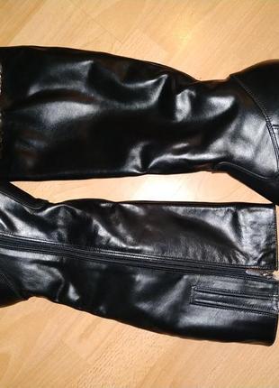 Зимние сапоги 43 р большой размер кожа