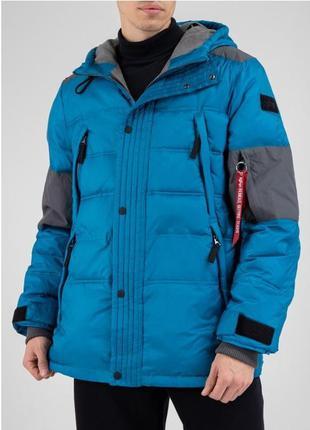 Зимняя куртка expedition parka от alpha industries оригинал