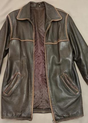 Куртка мужская кожаная wrangler