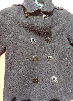 Пальто-жакет на мальчика