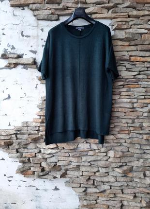Мягенький пуловер,  блузон большого размера