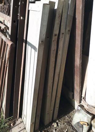 Алюмінієві листи з уголками на забор