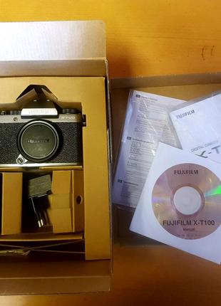 Fujifilm xt100 silver