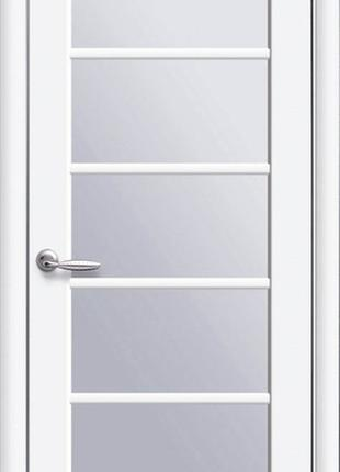 Двері МУЗА белий мат