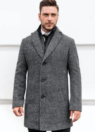 Мужское пальто на весну осень