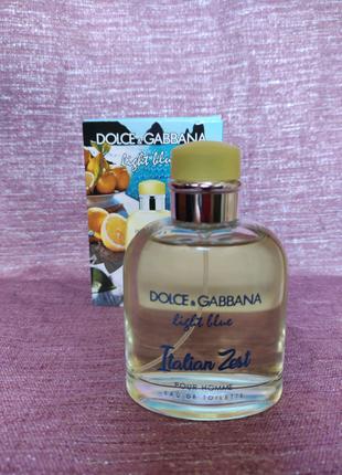 Туалетная вода Dolce & Gabbana Light Blue Italian Zest мужская