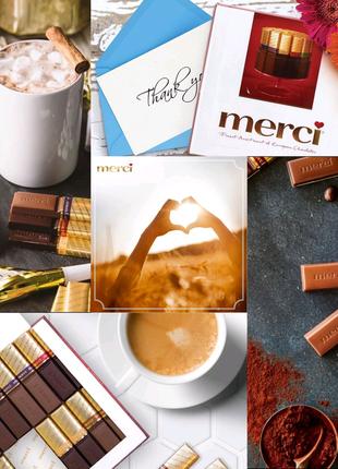 Merci Finest Selection шоколад цукерки / конфеты