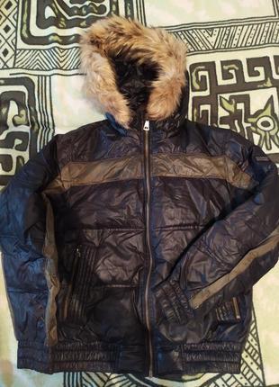 Куртка зимняя, пуховик, аляска, 48-50 размер