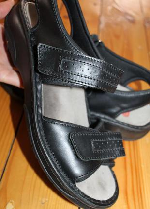 42 разм. сандалии berkemann. кожа