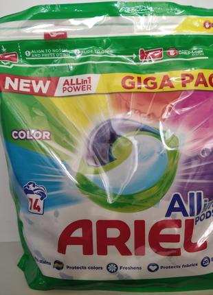 Ariel ALL in 1 Pods (Аріель) капсули для прання (74шт.)