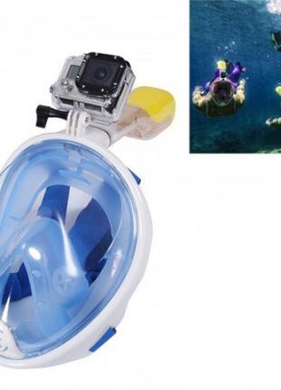 Маска полнолицевая для снорклинга, подводного плавания Tribord Fr