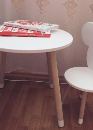 Детский столик стул Микки маус