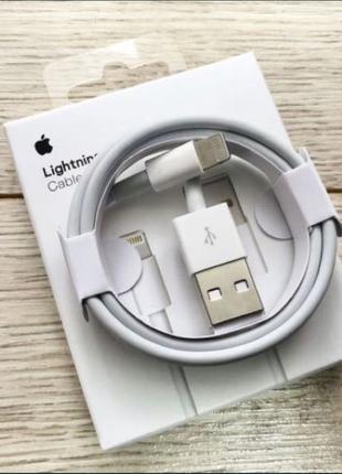 Оригинальный Lightning Лайтинг кабель шнур iPhone Айфон 5/6/7/8/Х