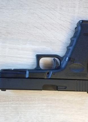 Пистолет Glock 17 Blowback игрушка для страйкбола на шариках 6 мм