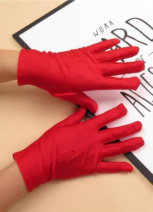 7-8 женские перчатки весенне - летние перчатки