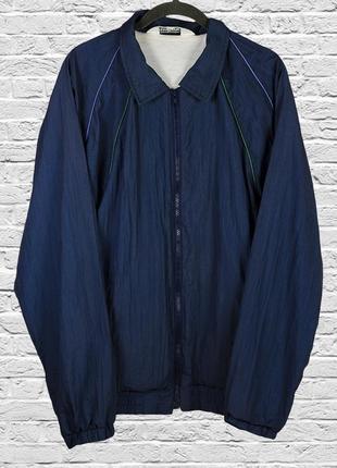 Женская ветровка синяя, спортивная ветровка, женская куртка де...