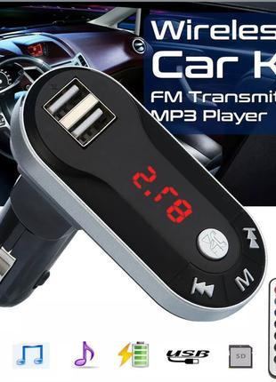 USB FM Transmitter, Mp3 Плеер - ФМ Трансмиттер, Модулятор
