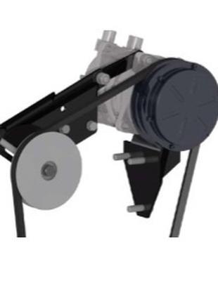Кронштейн крепления компрессора Мтз двигатель ММЗ Д-260 комплект