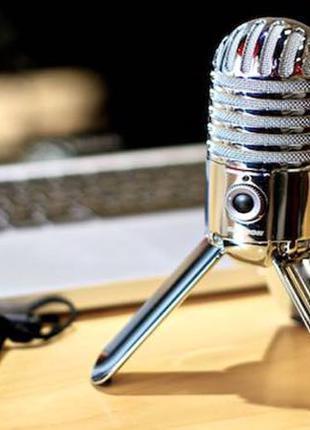 Студийниый микрофон Samson Meteor Mic