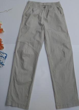 Мужские прямые брюки на резинке размер xl
