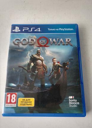 Диск God of War, PS4, лицензия