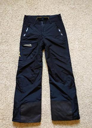 Лыжные термо брюки горнолыжные современные франция размер s-m