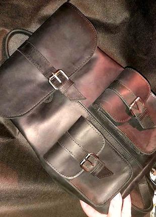 Рюкзак,кожа,2000