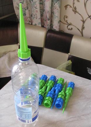 Насадка на пляшку для крапельного поливання.