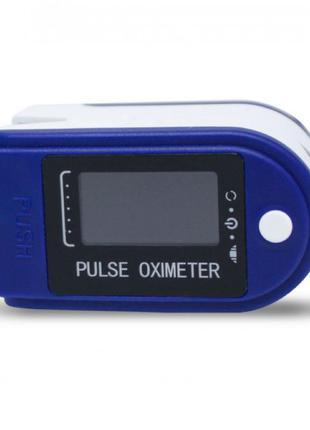 Пульсоксиметр Fingertip pulse oximeter LK87. Цвет: синий