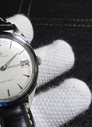 Certina Calendar Swiss Made часы швейцарские механика  как omega