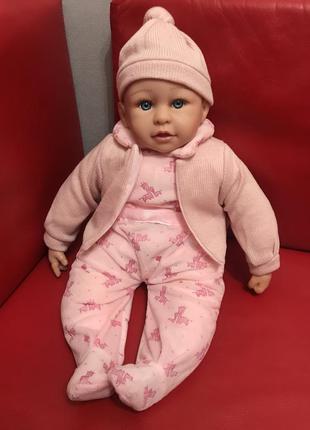 "Пупс ""чудо малюк"" озвучка украинским языком, кукла 50 см, в ко..."