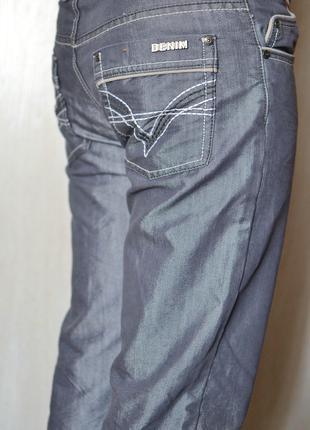 Стильные винтажные брендовые джинсы denim-32 (м) размер