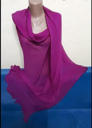Распродажа!!!!шаль шарф ,палантин шикарный размер 62×255см
