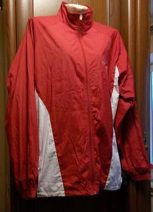 Олимпийка куртка спортивная красная ветровка new balance