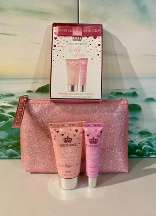 Style & grace, подарочный набор: блеск для губ, крем для рук, ...