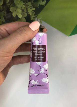 Крем-эссенция для рук  магнолия the saem perfumed hand essence...