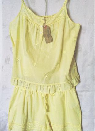 Пижамка батистовая бренд Beacan Cove Англия р L Новая!