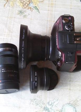 Широкоугольные насадки - конвертеры для фото и видео камер