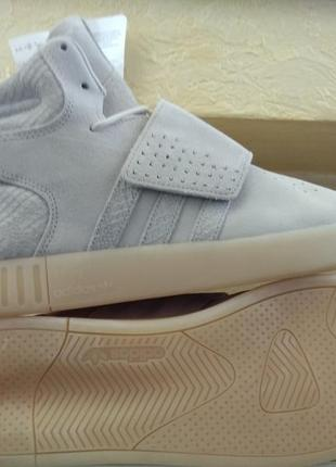 Кроссовки adidas tubular invader strap clear brown eqt support...