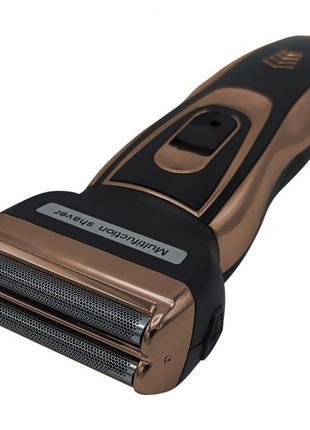 Электробритва сеточная и триммер для бороды GEMEI/Geemy GM-595...