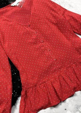Трендовая новая с биркой блуза на пуговицах f&f
