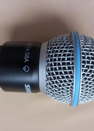 Капсула для радіосистеми Shure Beta 58A  (SHURE RPW118)