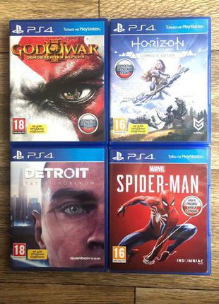 God of war, Spider-man, Human, Horizon