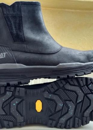 Зимние водонепроницаемые ботинки кроссовки caterpillar hydrobo...