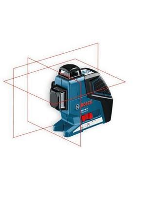 Лазерный нивелир Bosch GLL 3-80 комплект