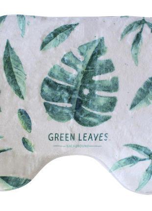 Коврик в ванную bathlux green leaves  антискользящий хлопковый...