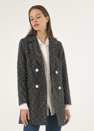 Стильное женское пальто season петра темно-серое