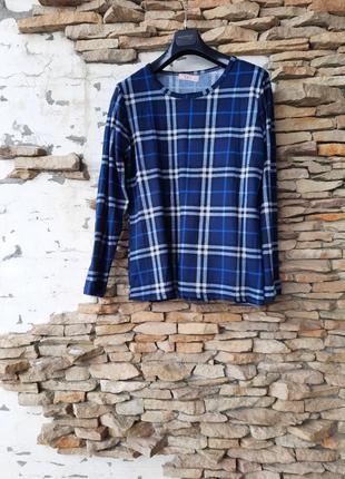 Стильный мягенький и тепленький пуловер большого размера