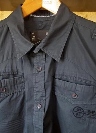 Эффектная тонкая рубашка от g-star